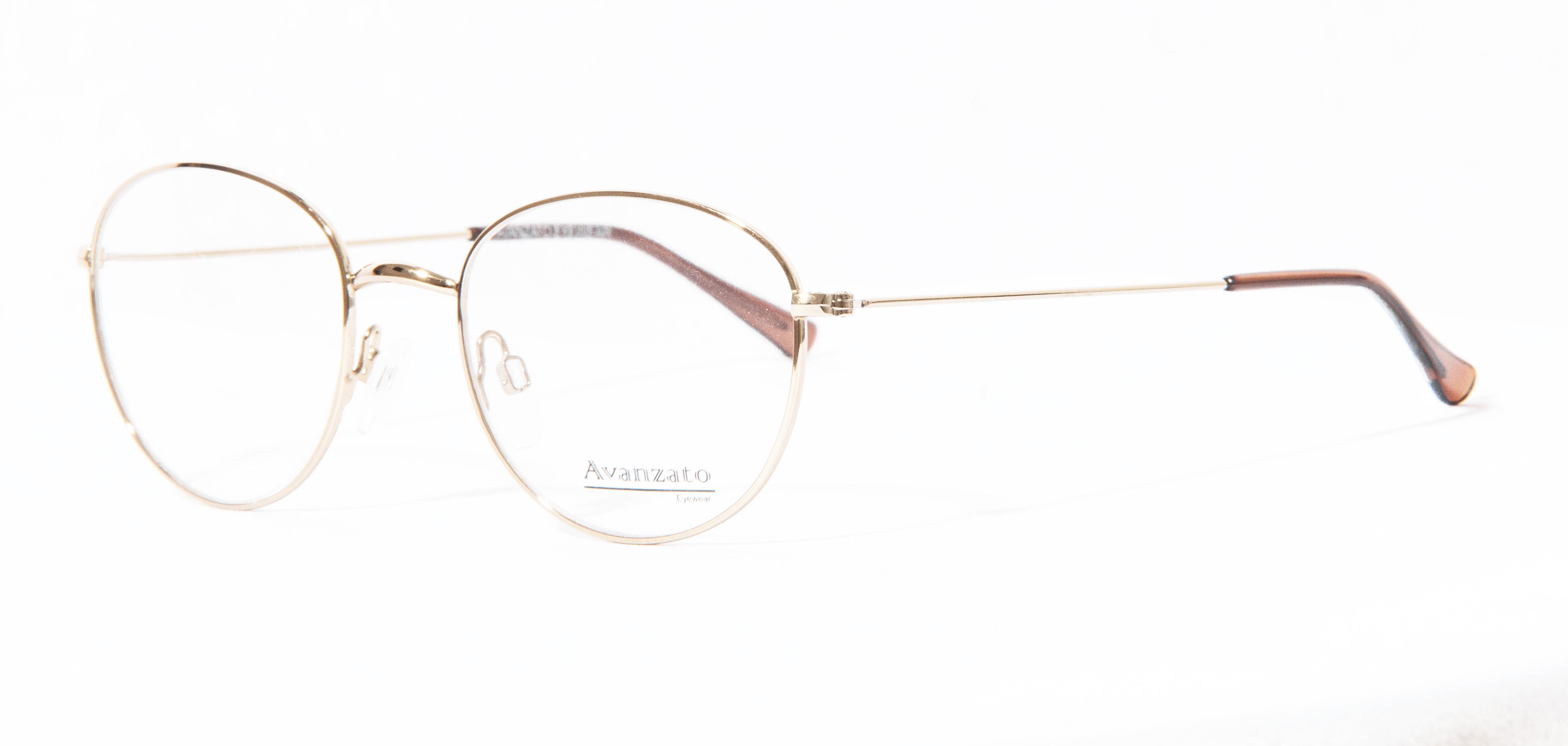 Tecvision Industria Optica   Óculos de Metal - Redondo - Avanzato ... ef19b99287